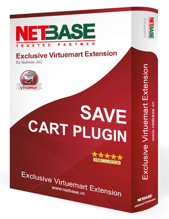 Virtuemart Save Cart plugin