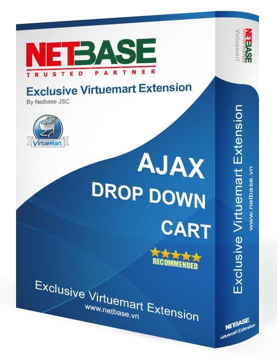 AJAX DROP DOWN CART FOR VIRTUEMART
