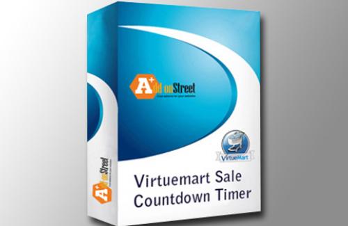 AddonStreet - Virtuemart Sale Countdown Timer v1.0