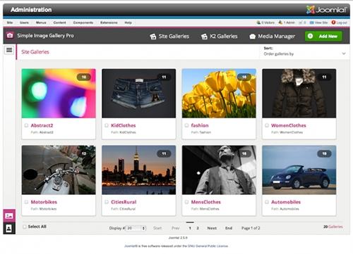 JW Simple Image Gallery PRO(v3.0.4 Joomla 3.2 & 2.5)