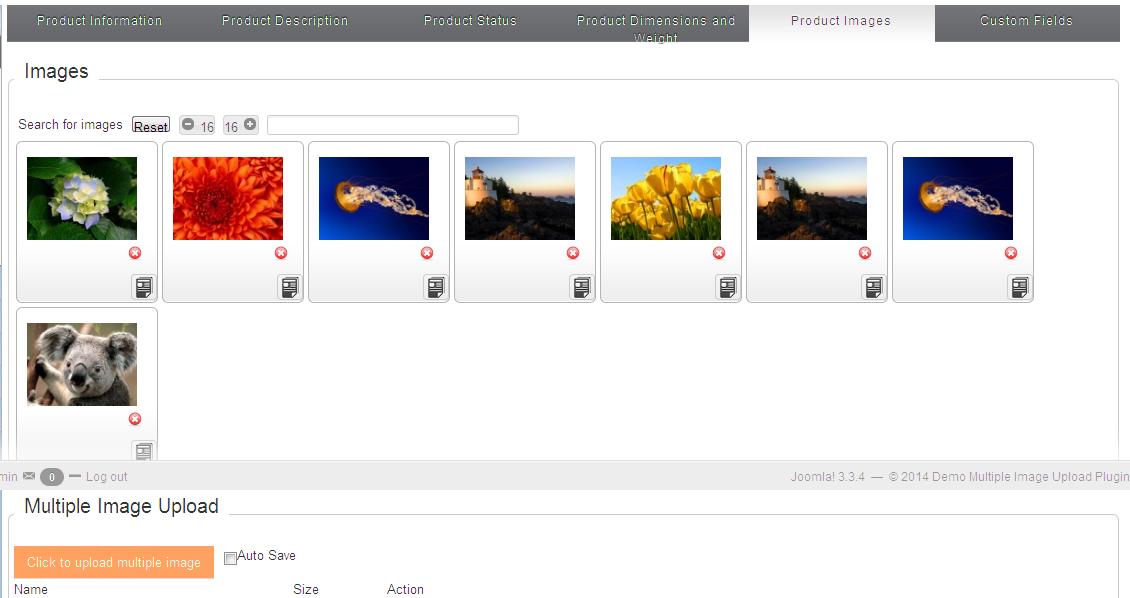 uploade images main poto