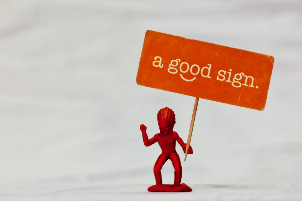 a-good-sign
