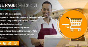 One page checkout for Virtuemart
