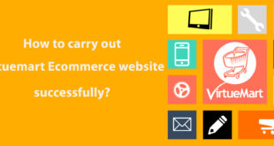How to carry out Virtuemart website successfully