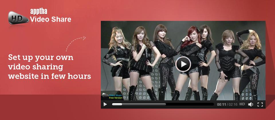 HD-Video-Share-Apptha
