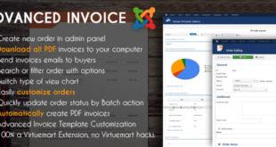 Virtuemart invoice extension
