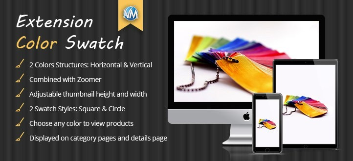 Upgrade your Virtuemart Shopping Cart with Virtuemart Color Swatch Extension